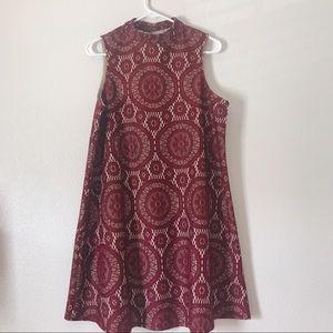Love Fire (Marshall's brand) mock turtleneck dress